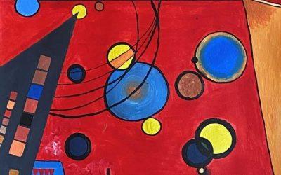Mathematik als Gestaltungselement in der Malerei